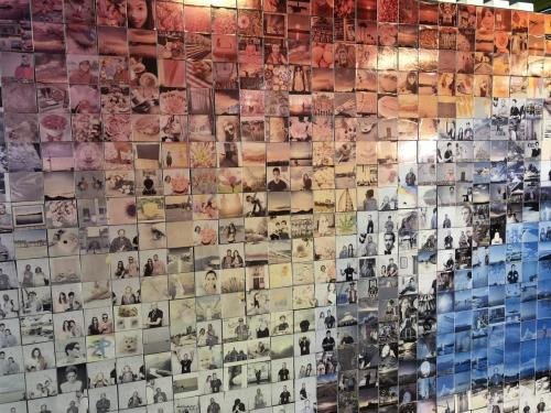 Photo Mosaic Wall
