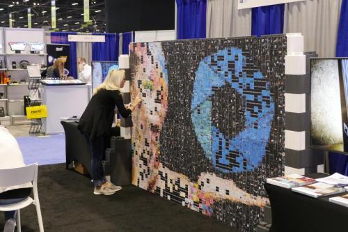 Photo Mosaic Wall